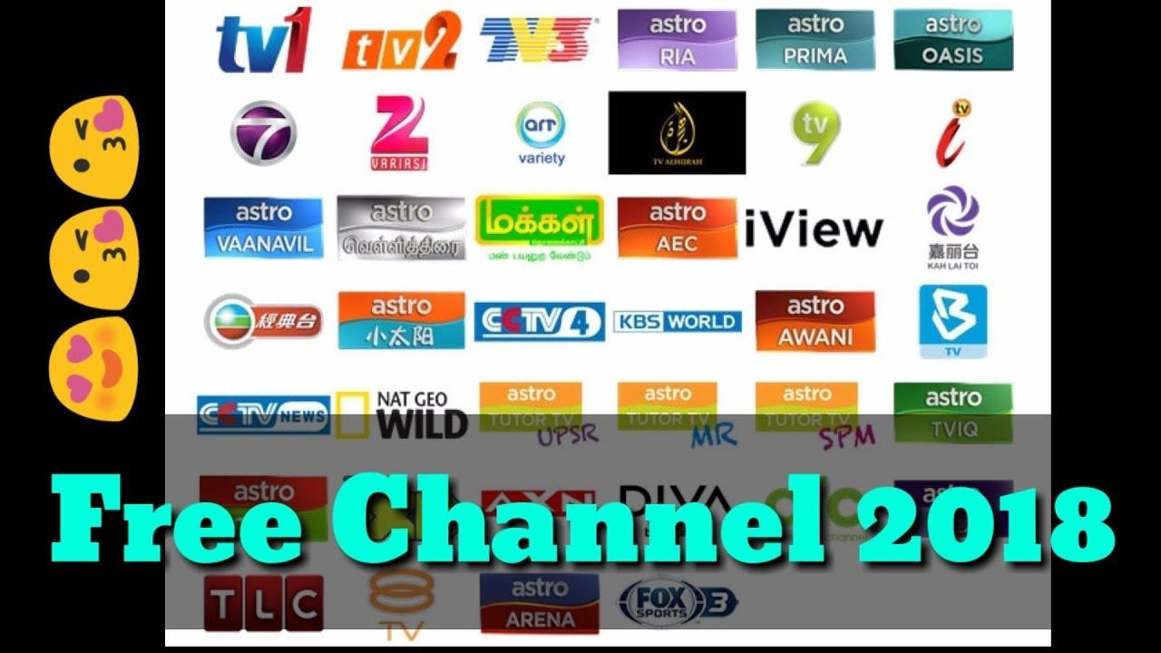 New App Free Saluran/Channel Astro Malaysia dan luar negara