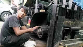 brake system wet type DOOSAN FORKLIFT /Part 2