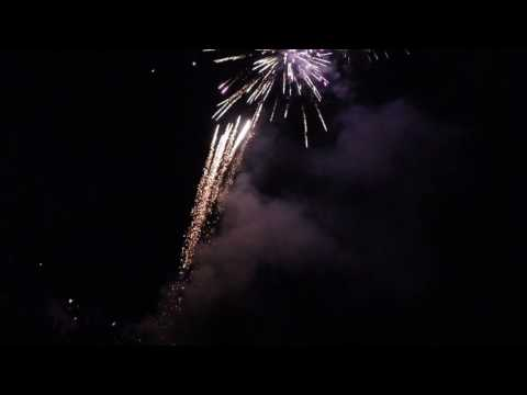 Crazy's Neighborhood Fireworks 2017 Launch Platform Cam 4K