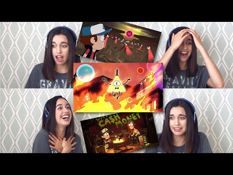 "Gravity Falls s02 e18 ""Weirdmageddon Part 1"" Reaction"