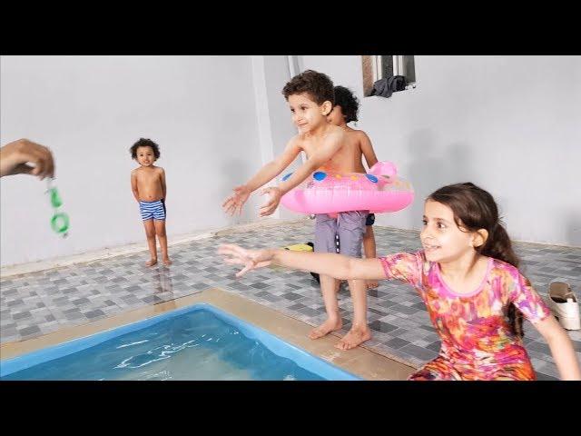 تحدي المسبح وسامر إنسحب من المنافسة Youtube