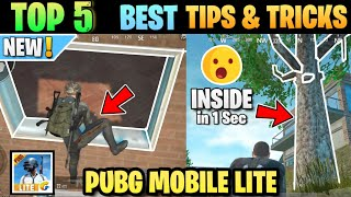 Top 5 Best Tips and Tricks Of Pubg Lite || Pubg Lite Tips And Tricks || Pubg Mobile Lite