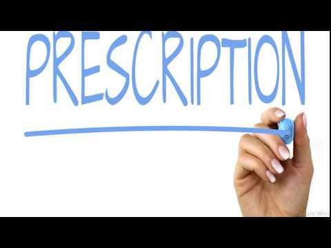 what is prescription, Parts of prescription, objective of prescription-dispensing pharmacy