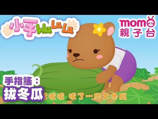 momo親子台 |【拔冬瓜】小手WuLaLa S2 EP 17【官方HD完整版】第二季 第17集~甜甜姐姐帶著大家一起玩手指搖