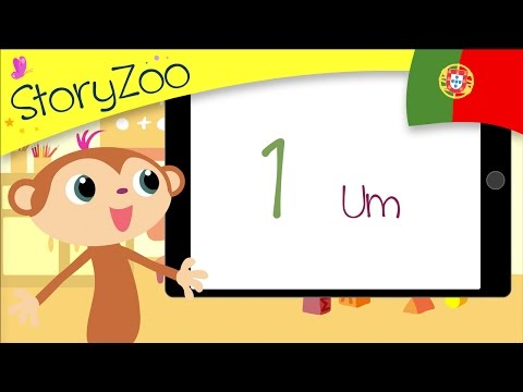 Numbers • Childrens First Words • Portuguese