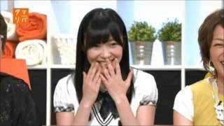 指原莉乃、佐藤亜美菜にパンツの色を暴露される!