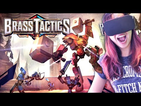 MUST-TRY VR GAME FROM AGE OF EMPIRES LEAD DESIGNER | Brass Tactics VR Gameplay (Oculus Rift)