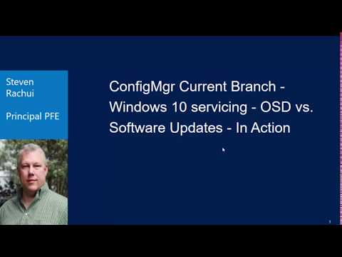 OSD Video Tutorial: Windows 10 servicing - OSD vs. Software Updates - In Action