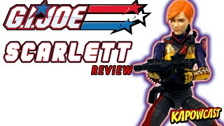 G.I. JOE CLASSIFIED SCARLETT REVIEW