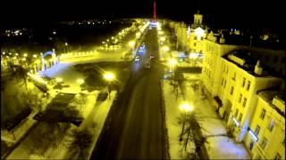 видео Магадан из окна автомобиля. Основные достопримечательности.