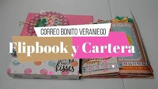 Correo bonito Veraniego | Flipbook Gatefold y Cartera | Yoltzin Handmade