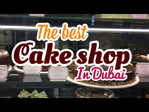 The Best Cake Shop in Dubai