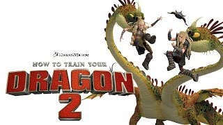How To Train Your Dragon 2 - Barf & Belch Attack Gameplay Overview  [PS3/XBOX360/Wii]