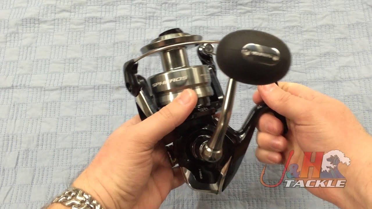 Shimano Spheros SW SP10000SW Spinning Reel   J&H Tackle