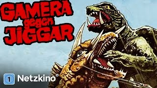 Gamera gegen Jiggar (Fantasy, ganzer Film, deutsch, Godzilla-Art) *Monsterfilme auf YouTube*