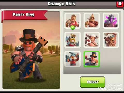 Clash Of Clans New August 2020 Gold Pass Skin || Party King Looks Awesome || COC🇮🇳🔥