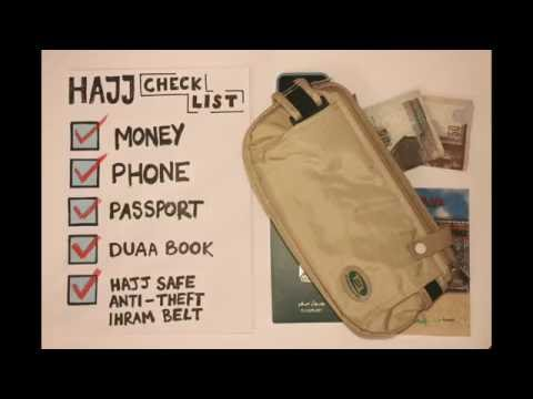 Stop Motion - Hajj Safe Anti Theft Ihram Belt Video English Large 540p