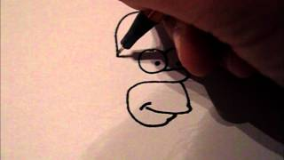How To Draw - Homer Simpson - For Beginners
