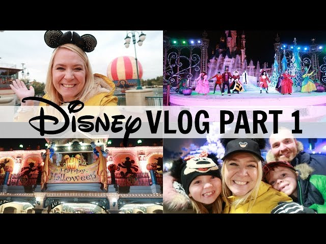 DISNEYLAND PARIS VLOGS PART 1 2018!