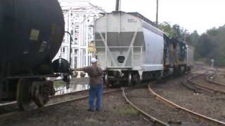 Csx Local Switching In Cartersville,ga Part 5
