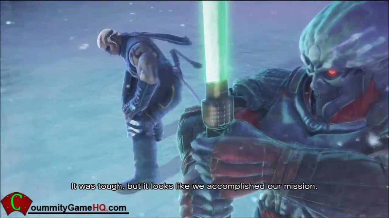 Street fighter X Tekken Yoshimitsu and Raven Story Ending Cinematic