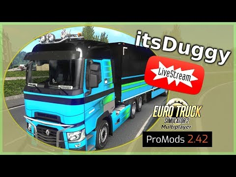 [🔴live-]-duggy-auf-achse-[euro-truck-simulator2/#promod-][hd]#multiplayer][deutsch/german]