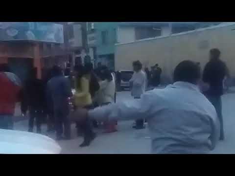 Segunda explosión en el carnaval de Oruro