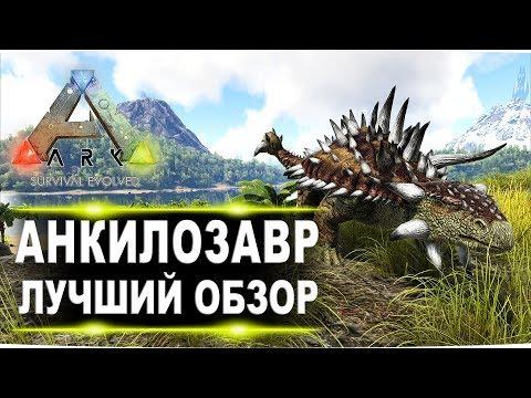 Анкилозавр Ankylosaurus в АРК  Лучший обзор приручение, разведение и способности  в Ark