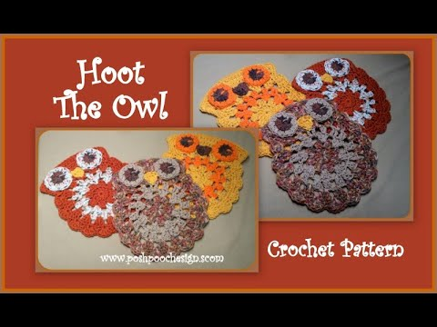 Hoot The Owl Crochet Pattern - YouTube