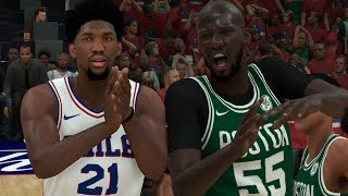 NBA 2K19 Tacko Fall My Career Ep. 15 - First Maxed Out 99 Attribute + Another Thriller!