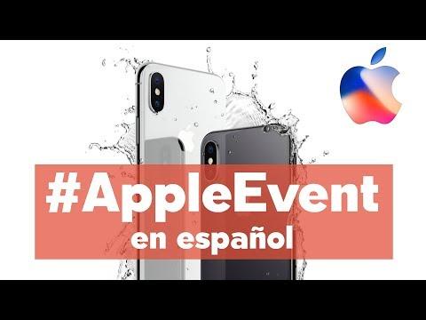 Nuevo iPhone X de Apple - #AppleEvent en español