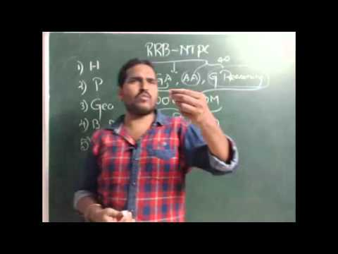 Railway Recruitment Board - Orientation Class by Mr.Pradeep