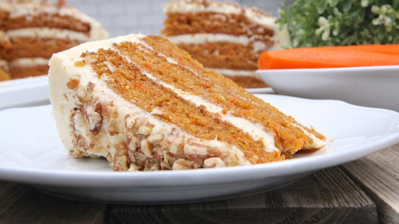 Grandma Barb S The Bomb Carrot Cake Recipe Youtube