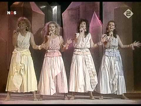 Frizzle Sizzle - Alles heeft een ritme HD - Eurovision Song Contest 1986 Netherlands 20-05-06
