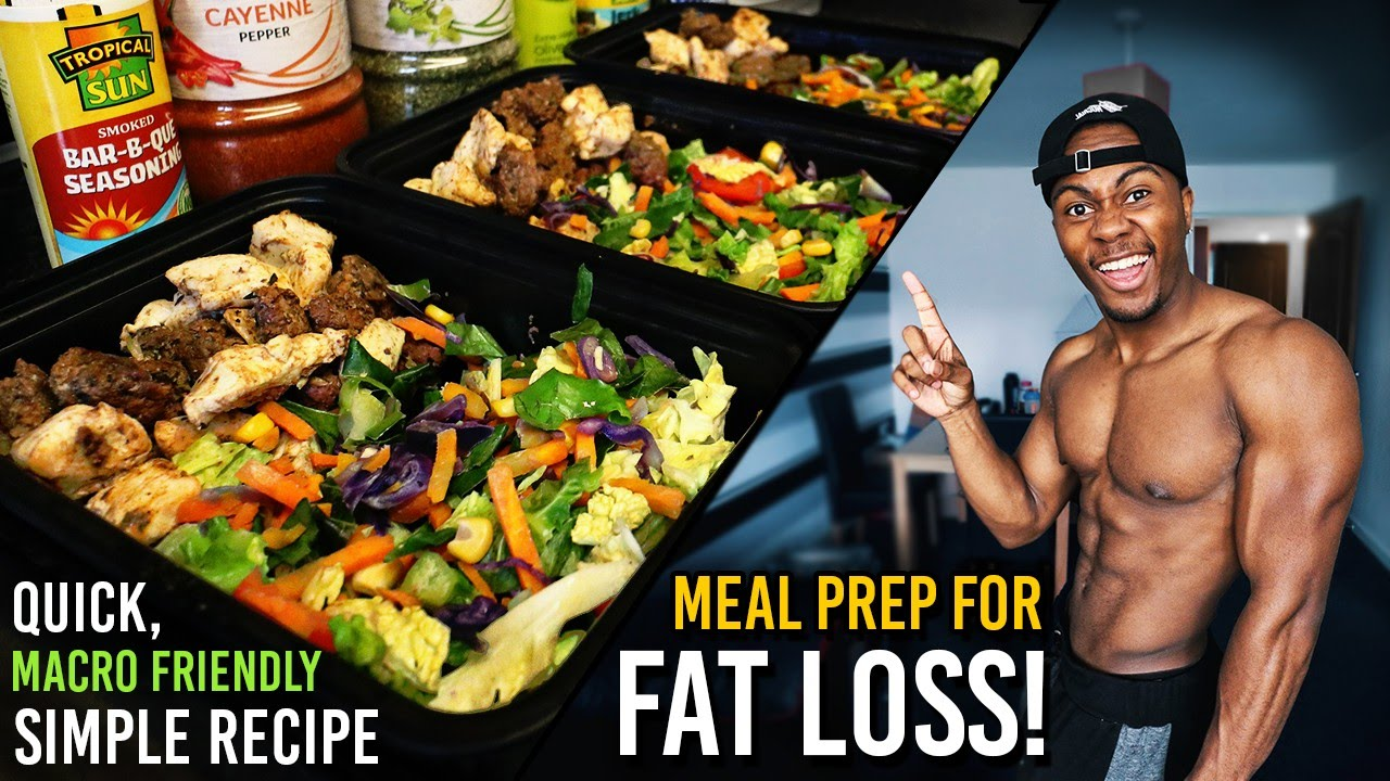 Low Carb Meal Prep For Fat Loss & Muscle Gain | How to