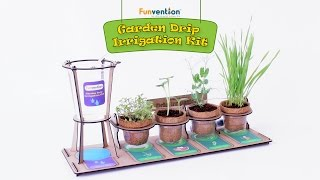 Funvention Garden Drip Irrigation Kit - DIY Science Educational Toy for Kids - Trailer