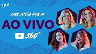 AO VIVO em 360°! Assista Astrid, Pitty, Gaby Amarantos e Mônica Martelli no programa #SaiaJustaBelem