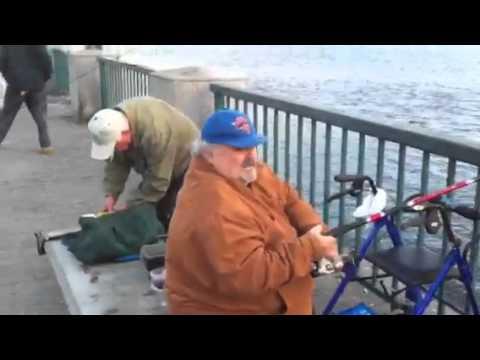 Fishing at Canarsie Pier