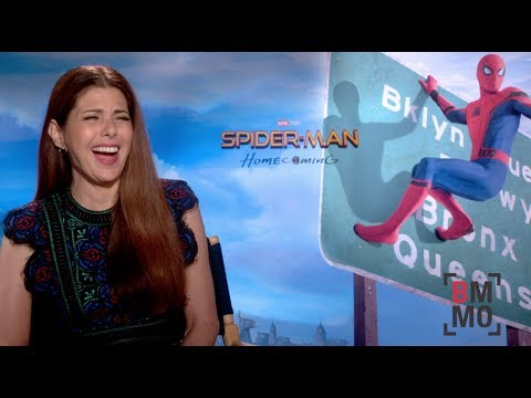 Marisa Tomei Interview -  Spider-Man: Homecoming