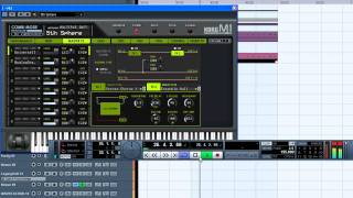 How to make a reggae beat with cubase 5