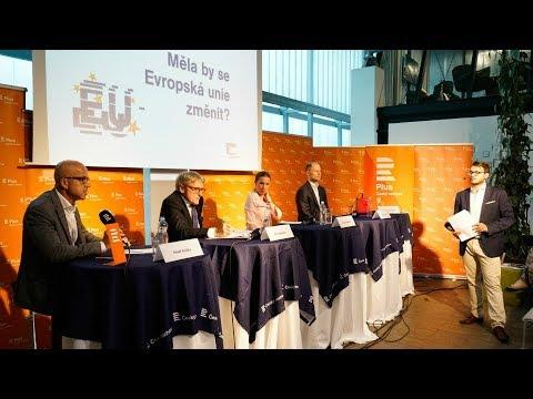 EU: Prospívá nám, nebo škodí? Veřejná debata v Brně