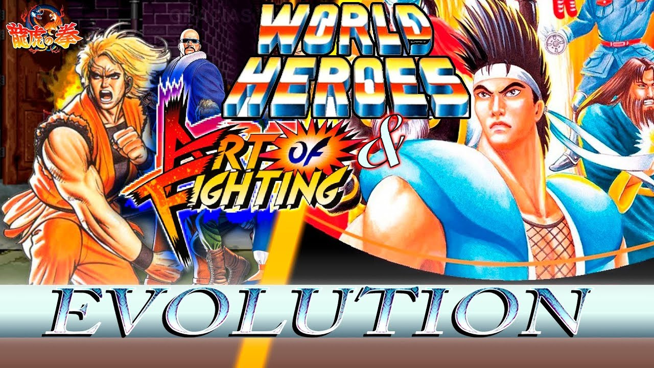Art Of Fighting World Heroes Evolucion Youtube