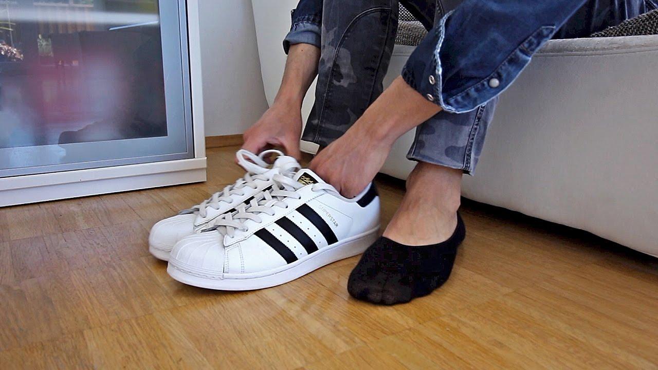 adidas superstar blancas de hombres