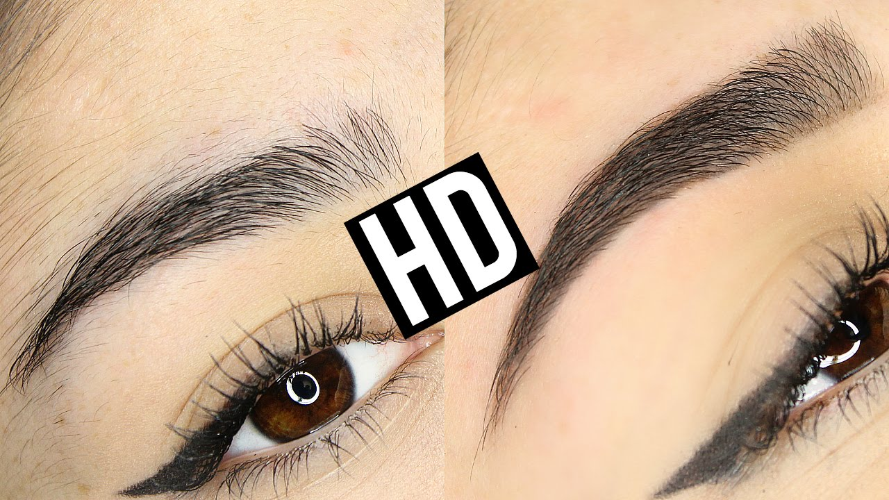 Hd High Definition Brows Eyebrow Transformation Before After