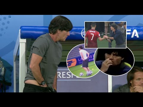 Joachim Löw Best And Disgusting moments in match HD - YouTube