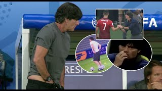 Joachim Löw ●  Best And Disgusting moments in match ● HD