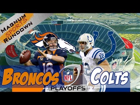 Colts at Broncos || AFC Divisional Playoffs || Predictions || MSR