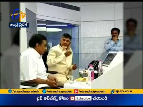 Mukesh Ambani Meets CM Chandrababu    in Vijayawada