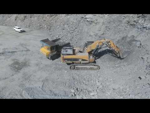 Caterpillar 385 Скальный ковш прямая лопата