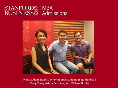 MBA Student Insights: International Students at Stanford GSB